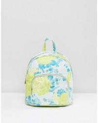 Asos Mini Fluro Jacquard Backpack