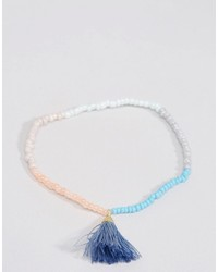 Beaded tassel friendship bracelet medium 638503