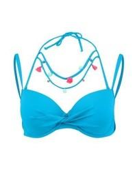 Hunkemöller Bikini Top Blue