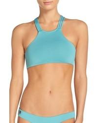 Maaji Sage Reversible High Neck Bikini Top
