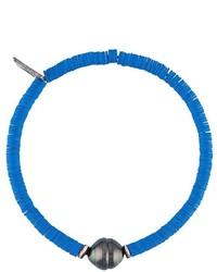 M. Cohen Sibyl Pearl Disk Bead Bracelet