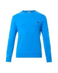 Aquamarine Crew-neck Sweater
