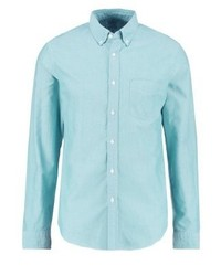 Slim fit shirt bright turquoise medium 3778008