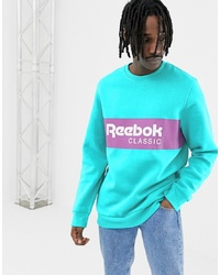 Reebok Classics Sweatshirt In Green Dx2343