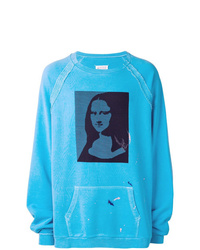 Maison Margiela Mona Lisa Print Sweatshirt