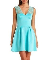 Aquamarine skater dress original 2189031