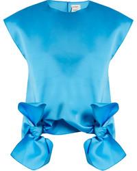 Tie front sleeveless top medium 1156691