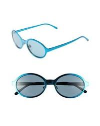 Burberry Splash 54mm Sunglasses Blue One Size