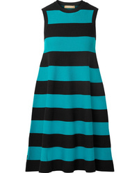 Michael Kors Collection Striped Knitted Dress