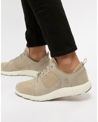 Timberland Flyroam Suede Trainers In Stone