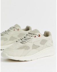 Pull&Bear Join Life Trainers In Beige
