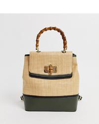 Skinnydip Salazar Backpack With Bamboo Handle
