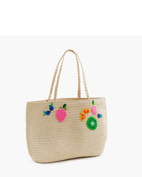 J.Crew Girls Straw Tote Bag