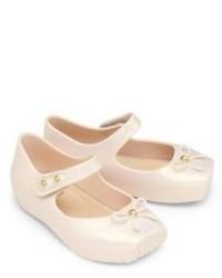 Beige Ballet Flats