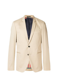 Ps By Paul Smith Fitted Button Blazer