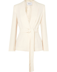 Racil Michelle Belted Crepe Blazer