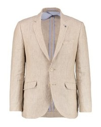 Cortefiel Suit Jacket Beigeroasted