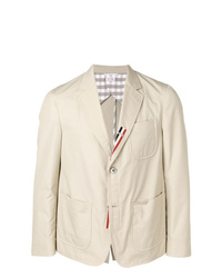 Thom Browne Typewriter Cloth Sack Sport Coat
