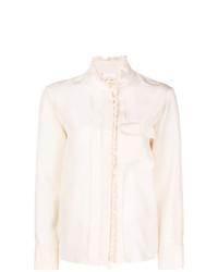 Chloé Ruffle Trimmed Shirt