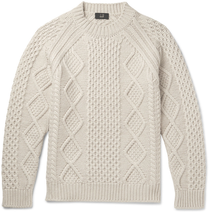 Dunhill Wear To Cashmere How Amp Sweater Knit Where Cable Buy Aqzrswxa