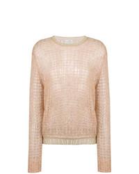Forte Forte Eyelet Knit Sweater