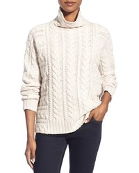 Nordstrom Collection Cable Cashmere Sweater