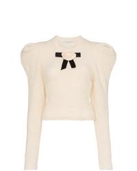 Philosophy di Lorenzo Serafini Rose Alpaca Wool Blend Knitted Sweater
