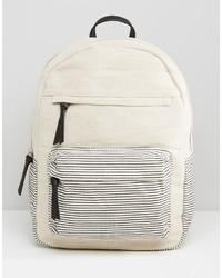 Mango Canvas Backpack