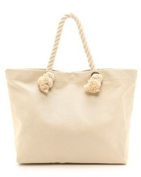 Bop Basics Canvas Beach Tote With Rope Handles | Where to buy ...