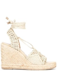 Tie around wedged sandals medium 3662431