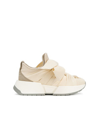 MM6 MAISON MARGIELA Bow Front Gathered Effect Sneakers