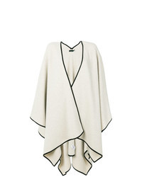 Beige Cape Coat