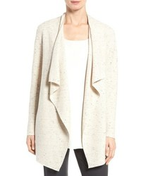 Eileen Fisher Peppered Organic Cotton Blend Cardigan
