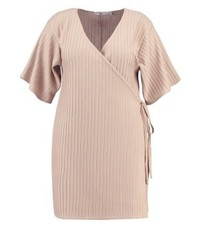 Missguided Jersey Dress Stone