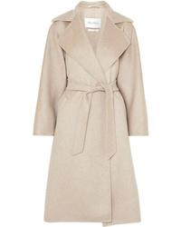 Max Mara Belted Brushed Cashmere Coat