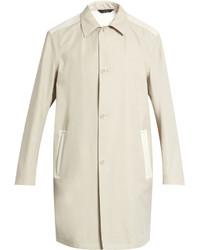 Calvin Klein Collection Bi Colour Wool Blend Coat