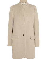 Stella McCartney Bryce Wool Blend Felt Coat