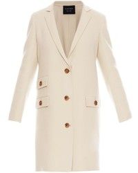 Lanvin Notch Lapel Wool Coat