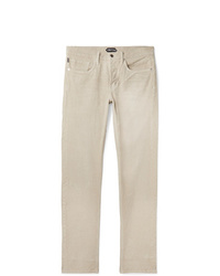 Tom Ford Slim Fit Stretch Cotton Corduroy Trousers