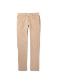 Loro Piana Slim Fit Stretch Cotton Corduroy Trousers