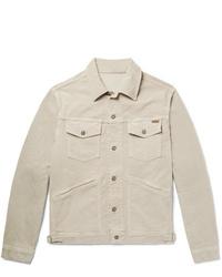 Tom Ford Cotton Blend Corduroy Trucker Jacket