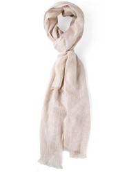 Beige Cotton Scarf