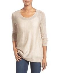 Eileen Fisher Petite Scoop Neck Sweater