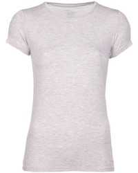 Beige Crew-neck T-shirt