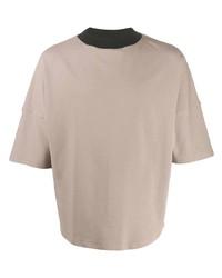Alchemy Contrast Neck T Shirt