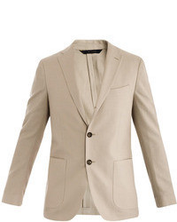 Brooks Brothers Cotton Linen Single Breasted Jacket