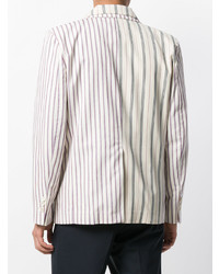 Gosha Rubchinskiy Double Layer Striped Jacket