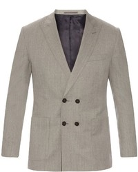 Mathieu jerome double breasted wool blazer medium 709714