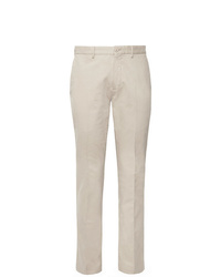 Incotex Slim Fit Stretch Cotton Twill Trousers