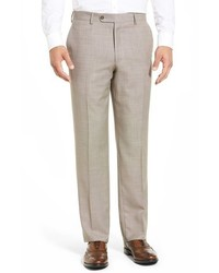 Tic weave super 100s wool trousers medium 402540